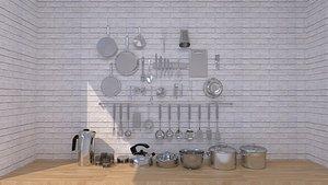 3D model Kitchenware 20211005