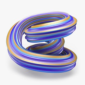3D Abstract Shape 02 model