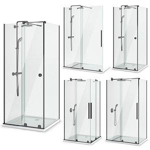 3D cabin showers radaway | model