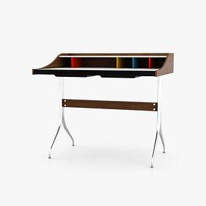 3D Herman Miller Nelson Swag Leg Desk