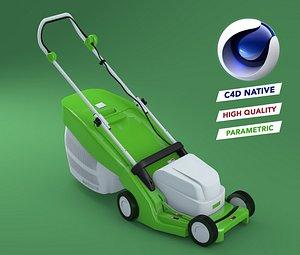 Lanwmower Nordsmen No copyright C4D native 3D model