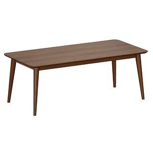 3D model dining table tate walnut