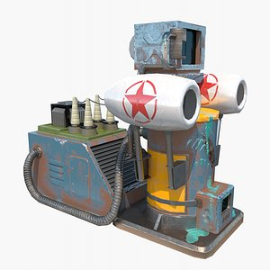 electric supply power 3D model