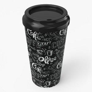 paper cup 3D model