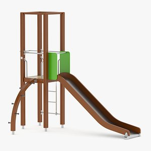3D Lappset Activity Tower 07 model