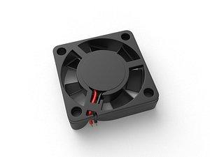 Cordless Mainboard Fan 3D