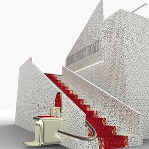 3D model stairlift