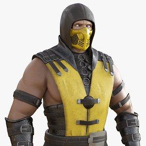 3D Scorpion Mortal Kombat