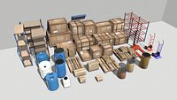 Warehouse Props Pack 1 unreal asset