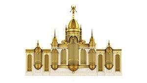 Pipe Organ 3D model