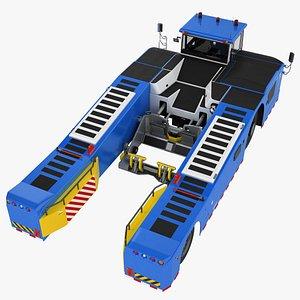 3D Deck Tow Tractor Generic 01