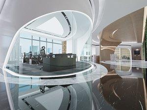 office public 3D model