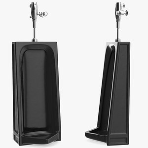 washout urinal 3D
