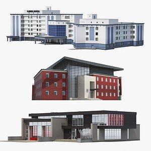 Civic Buildings Collection 3D model