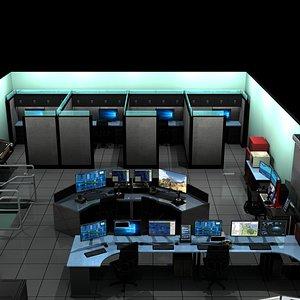 3D computer lab model