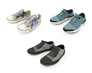 3D shoe fashion footwear