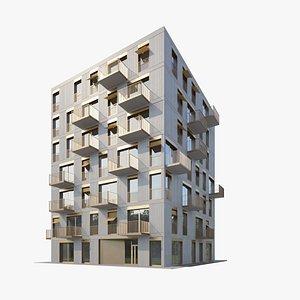 Apartment House 019 3D model