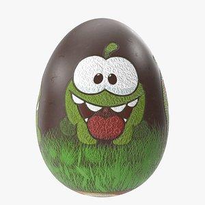 Easter Egg Chocolate Toon 3D model