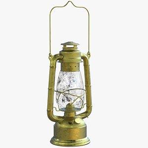 3D Fuel Lantern model