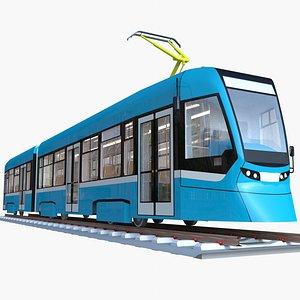3D model tram stadler