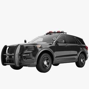 Police Car SUV Generic 07 model