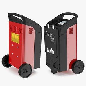 Telwin Multifunction Battery Charger Doctor Start 630 3D model