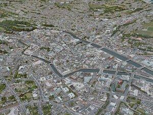 3D cork city