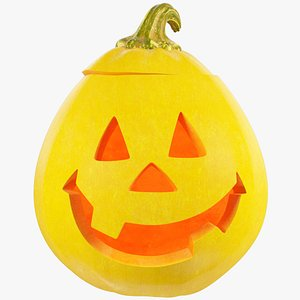 Halloween Pumpkin V5 model