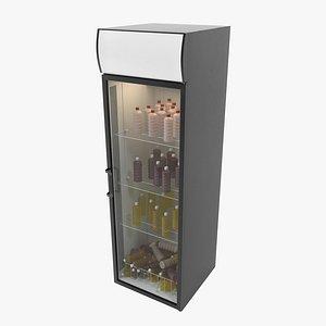 beverages refrigerator 3D
