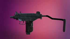 weapon unreal engine 3D model