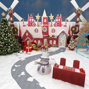 3D Christmas Decoration Pack - Collection