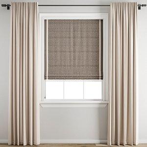 3D Curtain192 model