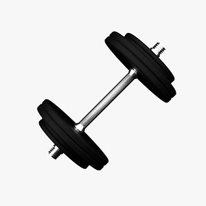 sport weight weightlifting 3D model