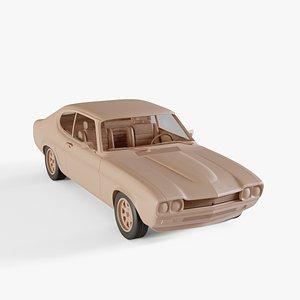 1970 Ford Capri RS 2600 3D