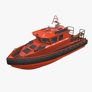 zmey motor rescue ship 3D model