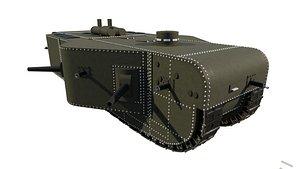3D K wagen model
