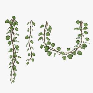 3D liana plant