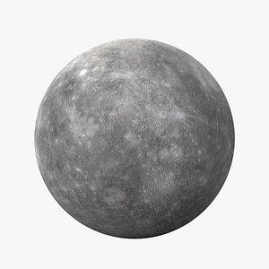 planet mercury 3D model