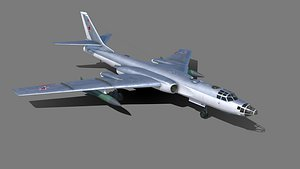 3D Tu-16 Badger  Xian H-6A