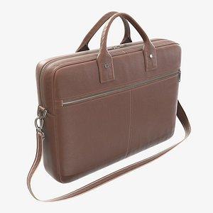 handbag leather briefcase 3D