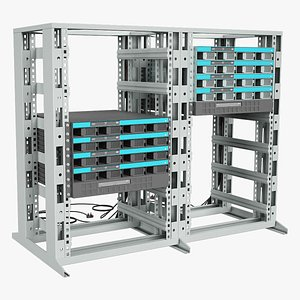 equipment data server 3D model
