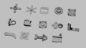 engineering hardware mechanical 3D model