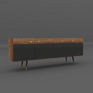 Console Dresser Classi 3D