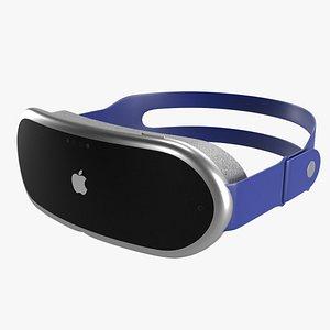 Apple VR Headset 3D model