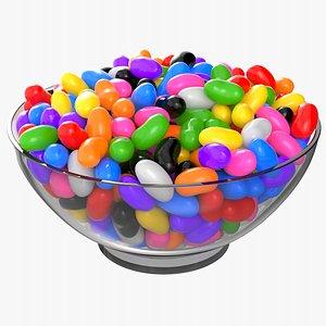 3D jelly bowl