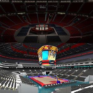Ufc Arena and Basketball Arena 3D model
