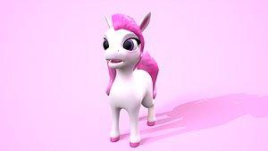 pony cartoon 3D