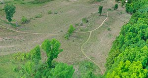 3D Prairie Meadow Trails model