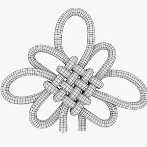 3D knot model