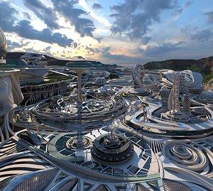 3D city future model